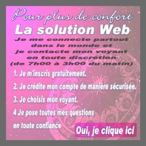 Consultation amoureuse sécurisée sur le web